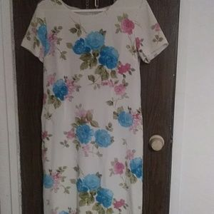 Chadwicks vintage silk dress